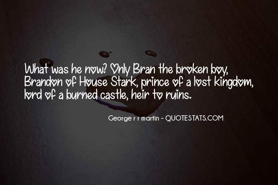 Quotes About Castle Ruins #271895