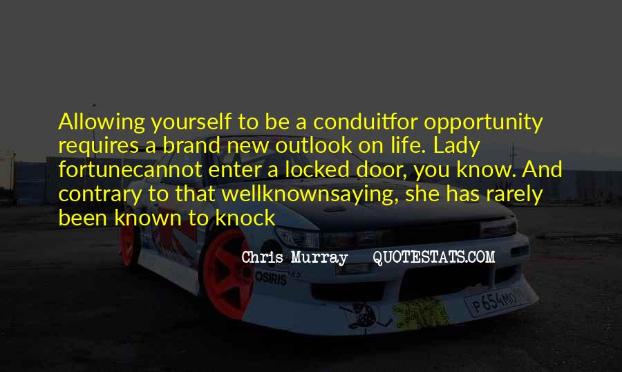 Quotes About Fortune And Luck #1018317