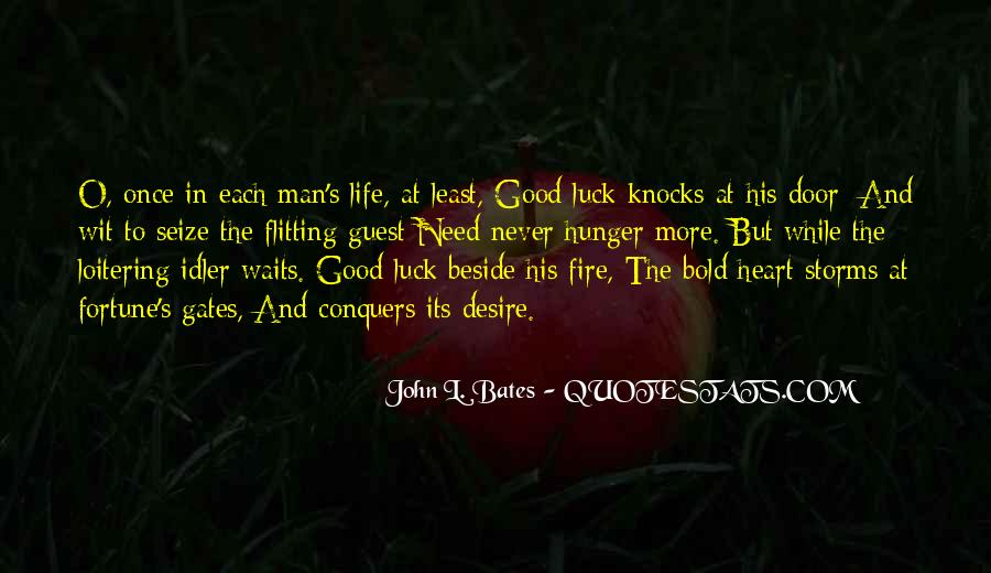 Quotes About Fortune And Luck #1877495