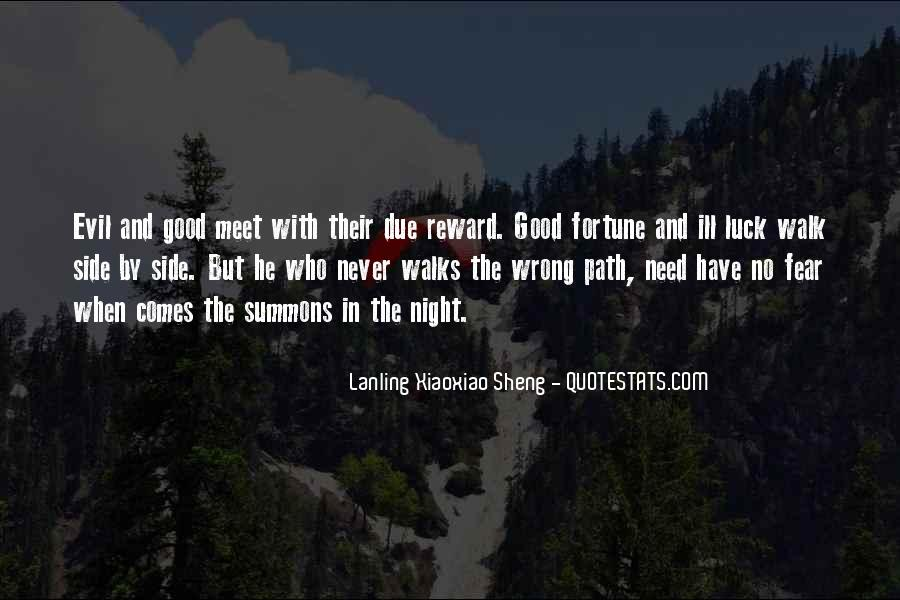 Quotes About Fortune And Luck #770926