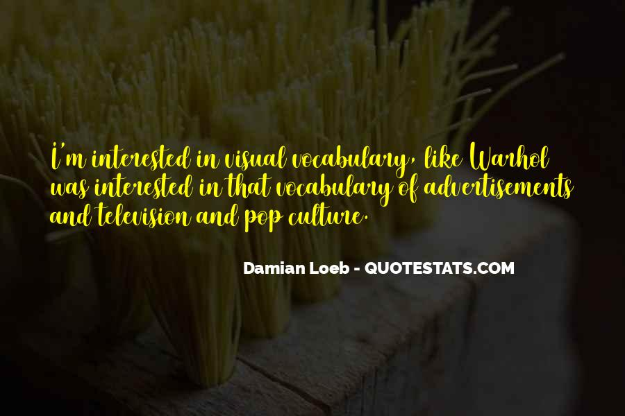 Quotes About Visual Culture #1584956