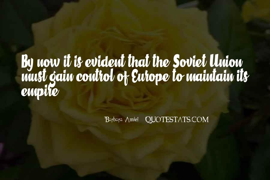 Quotes About Europe Union #1015428