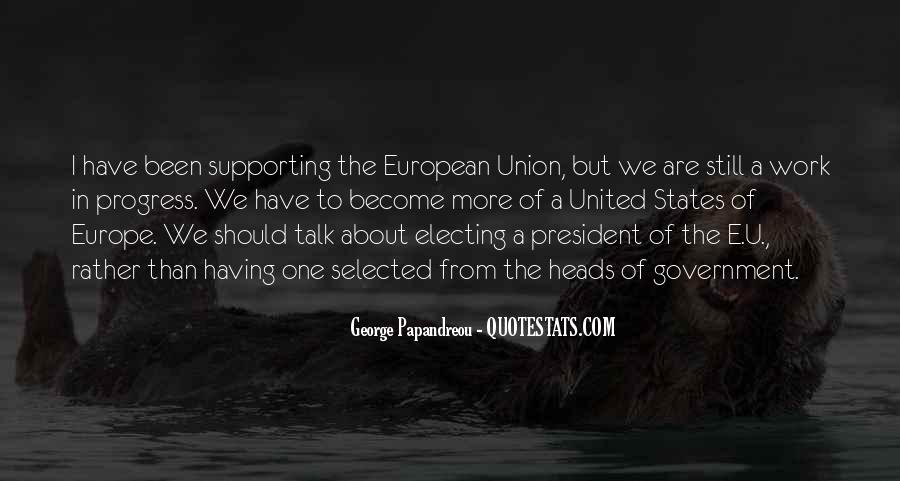 Quotes About Europe Union #1020582