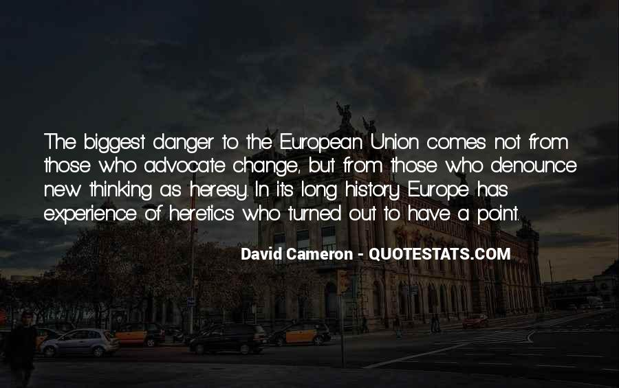 Quotes About Europe Union #1146784