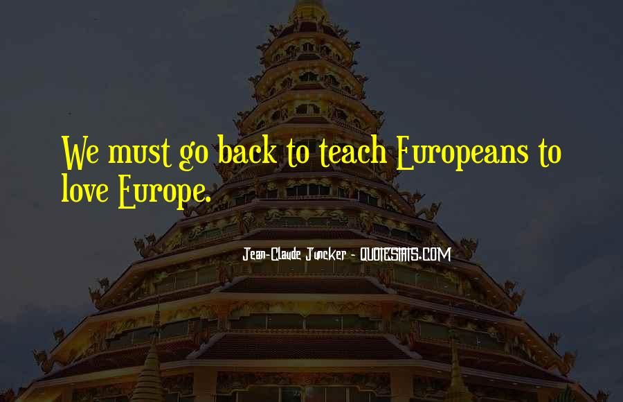 Quotes About Europe Union #121353