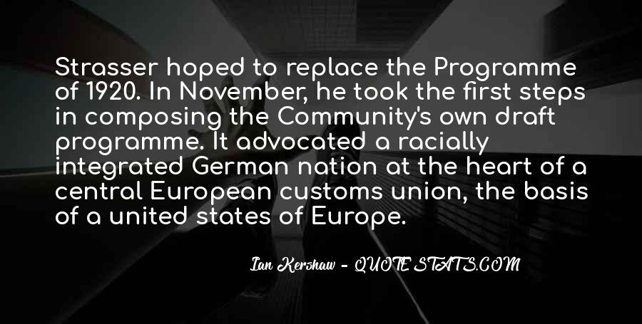 Quotes About Europe Union #1237136
