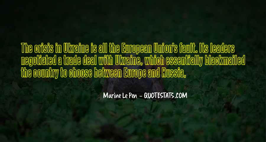 Quotes About Europe Union #1242951