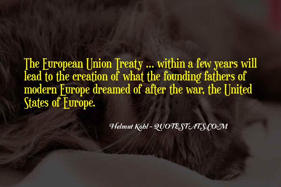 Quotes About Europe Union #1338497