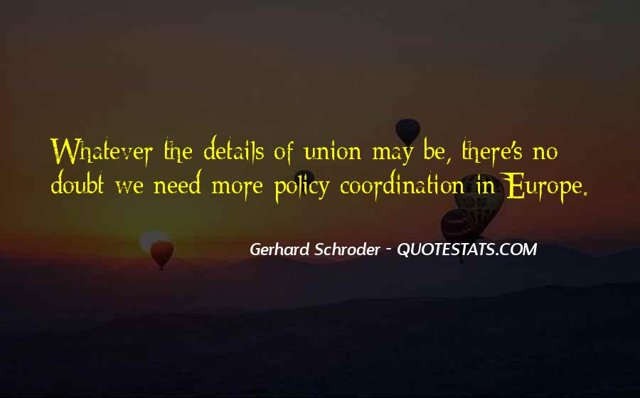 Quotes About Europe Union #1372257