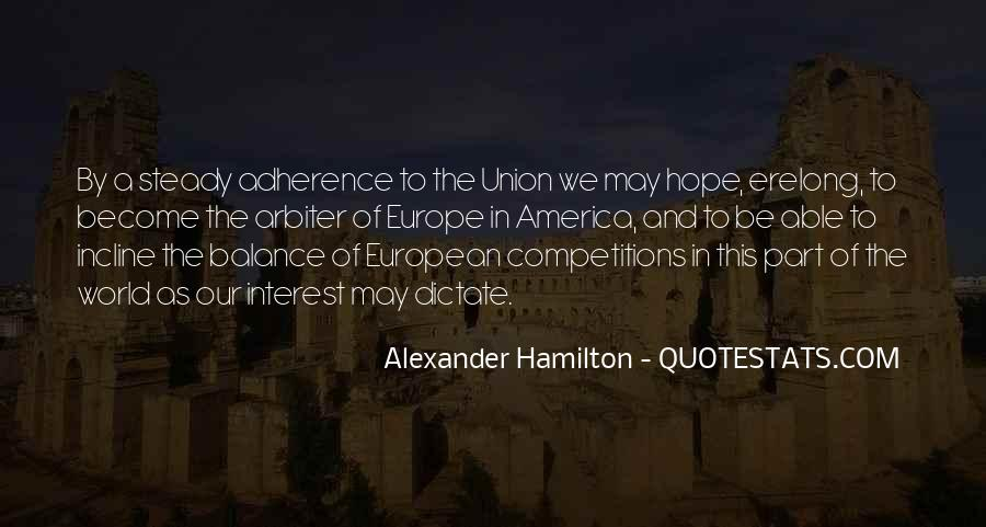 Quotes About Europe Union #1373446