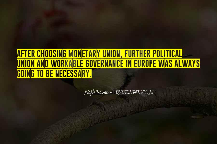 Quotes About Europe Union #15145