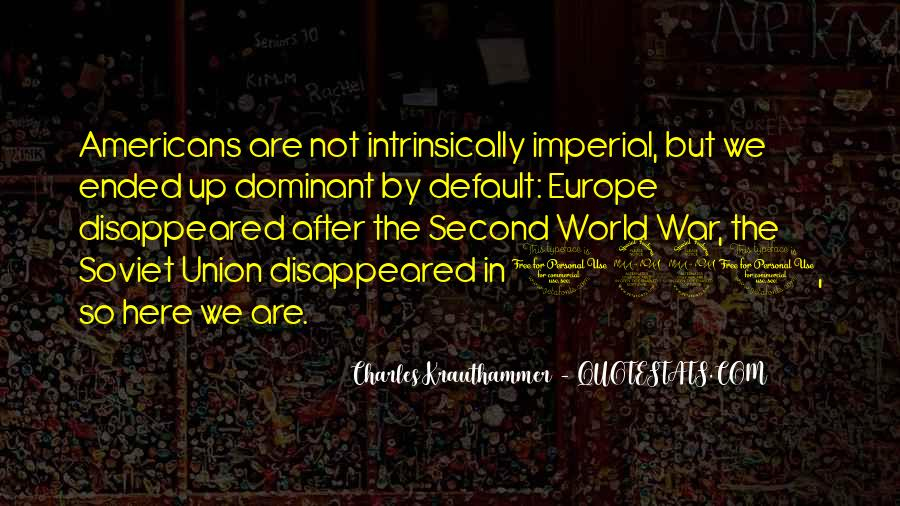 Quotes About Europe Union #1550541
