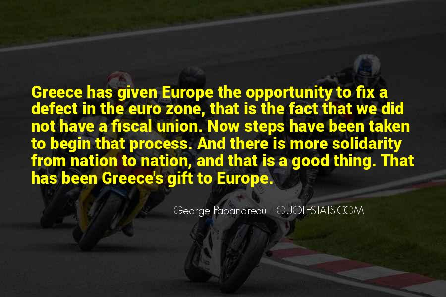 Quotes About Europe Union #1744581
