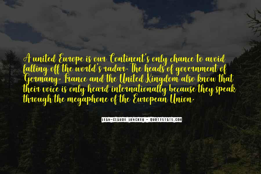 Quotes About Europe Union #1757253