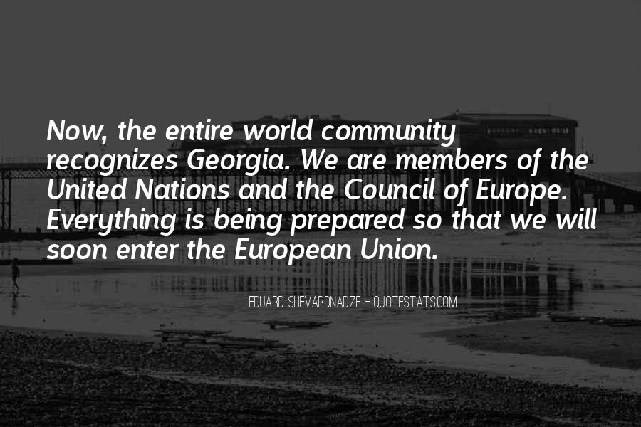 Quotes About Europe Union #1768864