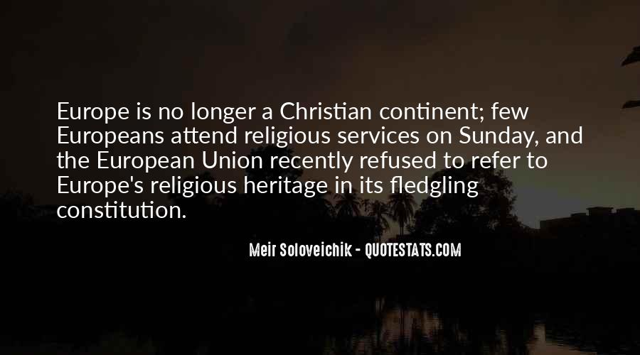 Quotes About Europe Union #1801802
