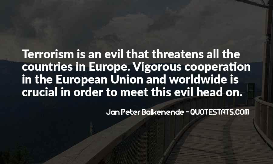 Quotes About Europe Union #461982