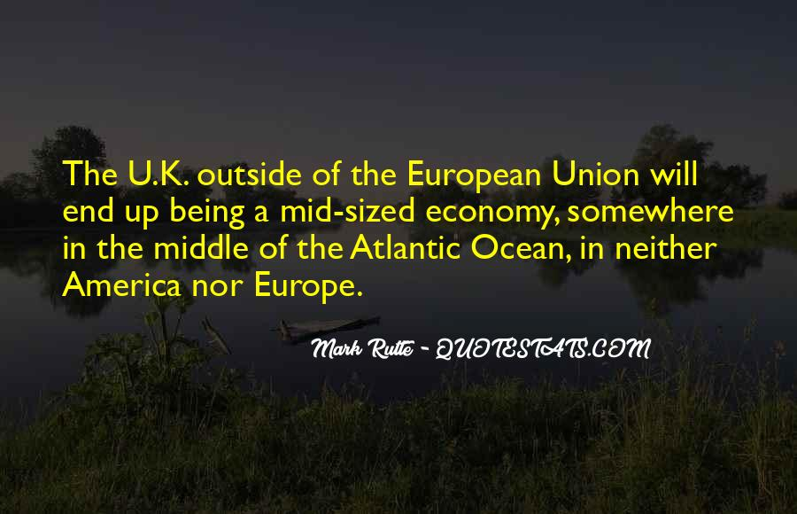 Quotes About Europe Union #56647