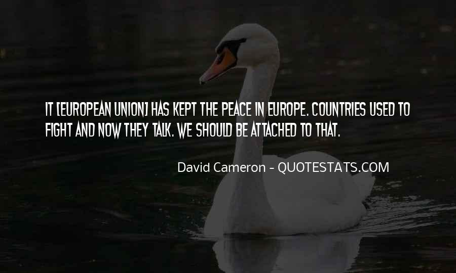 Quotes About Europe Union #739998
