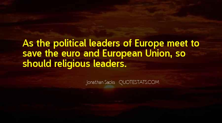 Quotes About Europe Union #779201