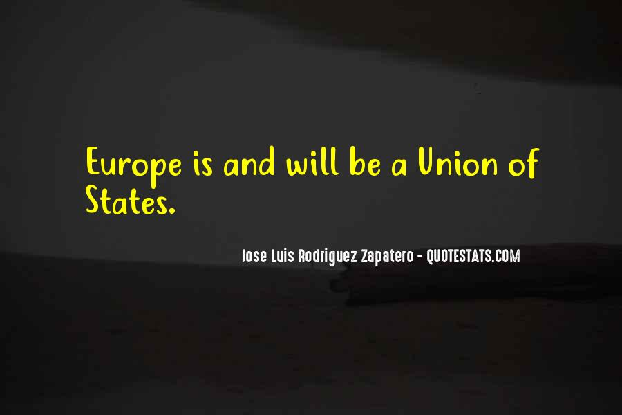 Quotes About Europe Union #810149