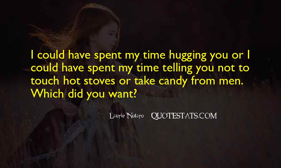 Quotes About Hugging From Behind #277529
