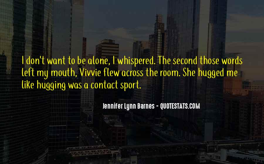 Quotes About Hugging From Behind #542193