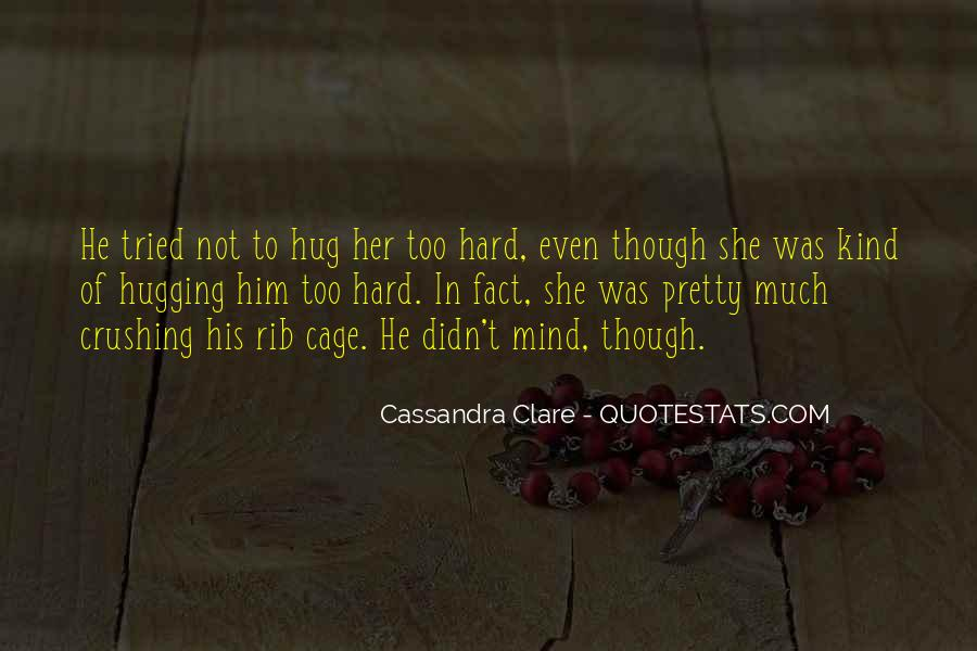 Quotes About Hugging From Behind #662241