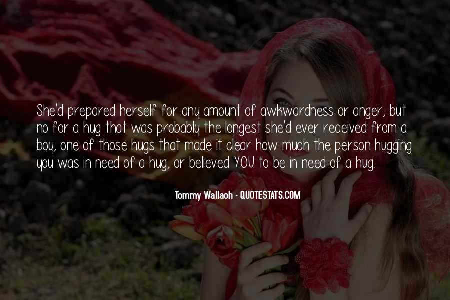 Quotes About Hugging From Behind #689780
