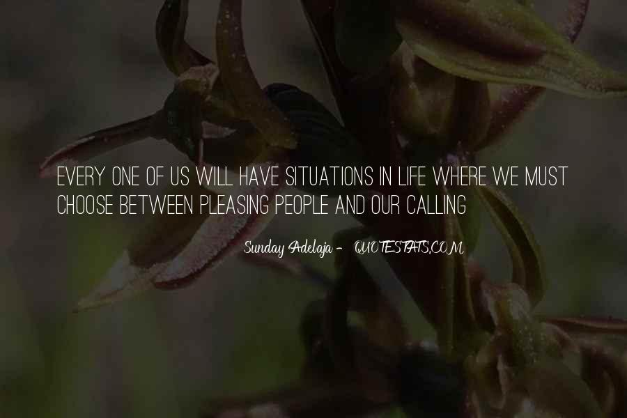 Quotes About One's Calling In Life #1412874