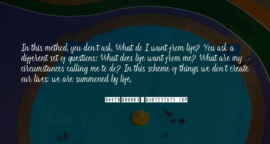 Quotes About One's Calling In Life #28878
