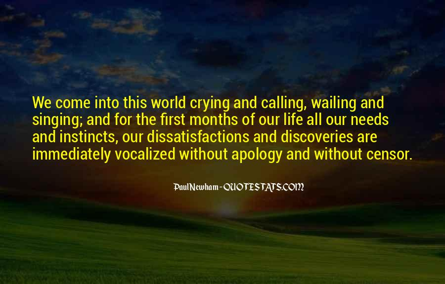 Quotes About One's Calling In Life #59649