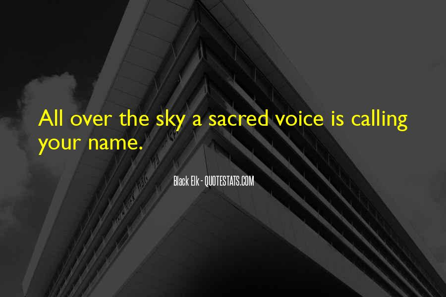 Quotes About One's Calling In Life #63609