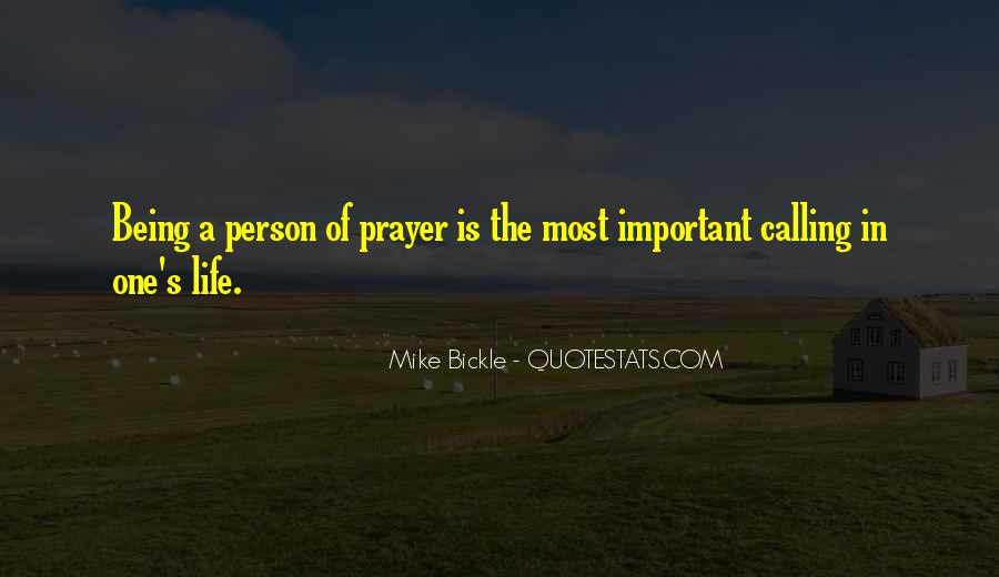 Quotes About One's Calling In Life #866039