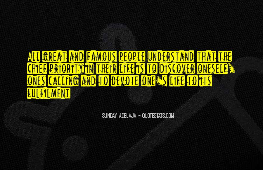 Quotes About One's Calling In Life #981683