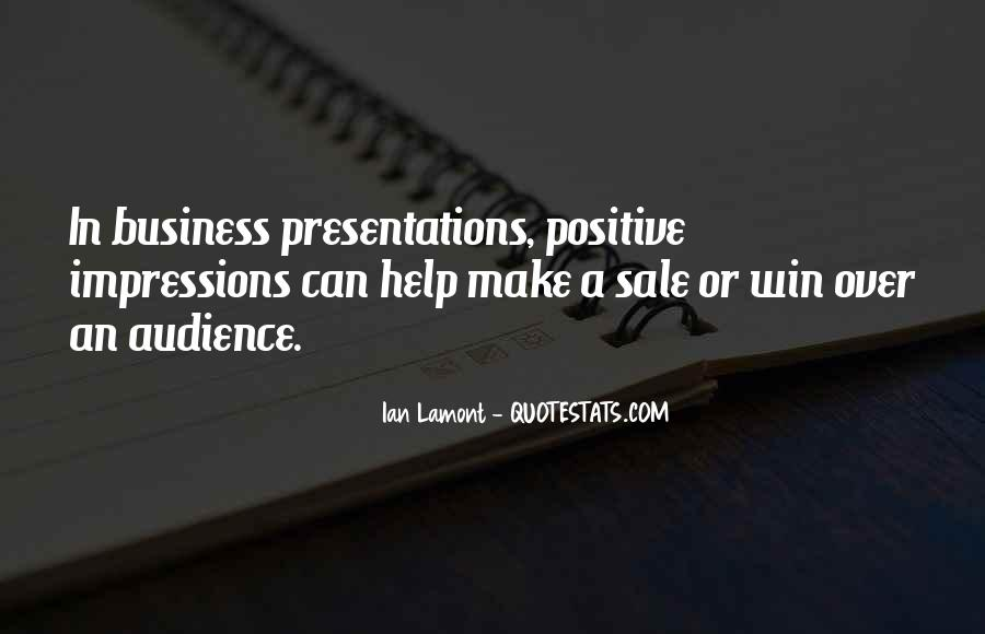 Quotes About Presentation Skills #1142589