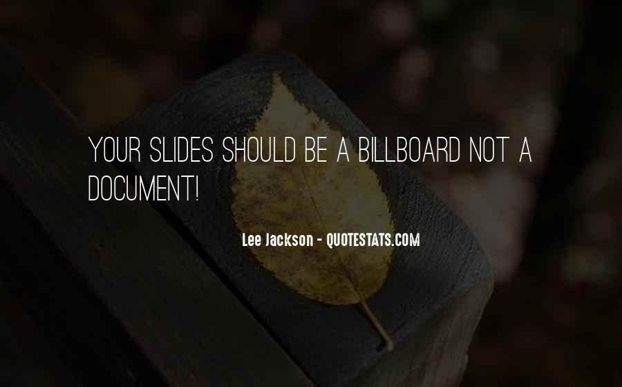 Quotes About Presentation Skills #1340339