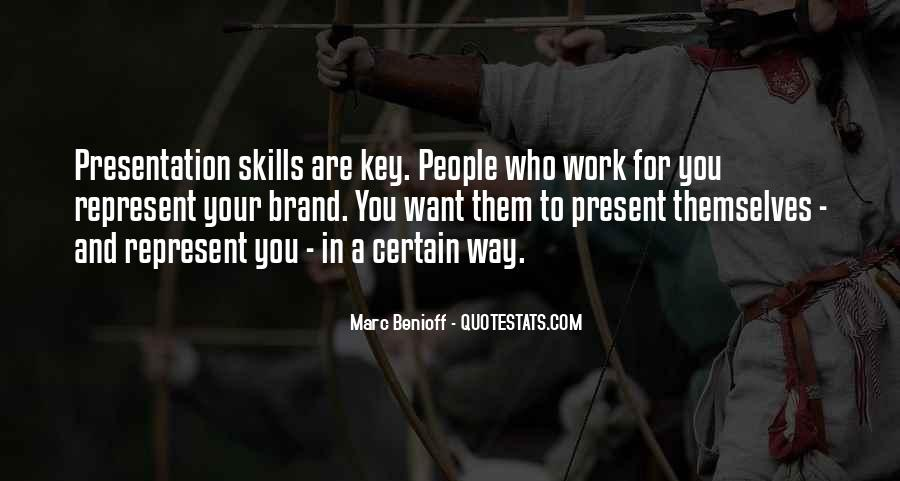 Quotes About Presentation Skills #1712725