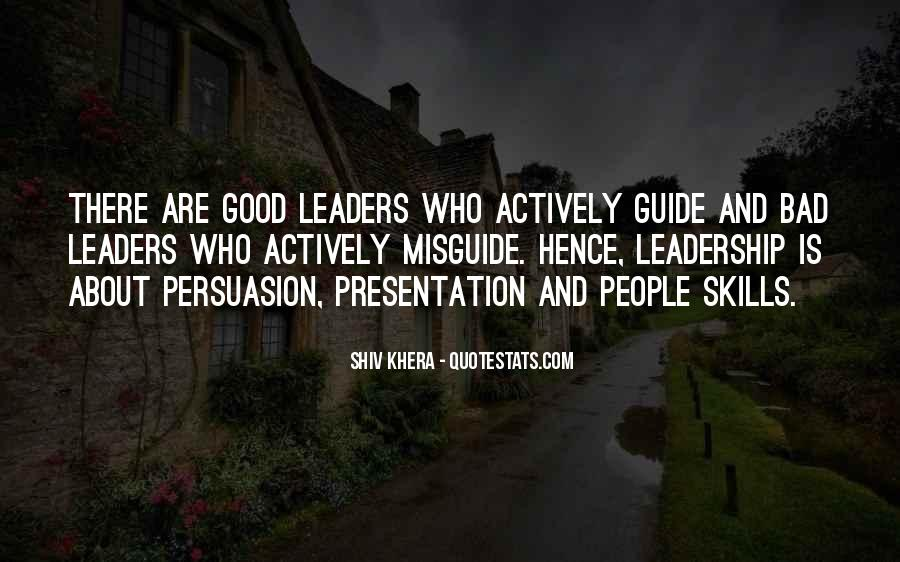 Quotes About Presentation Skills #1803083