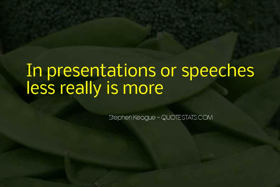 Quotes About Presentation Skills #236824