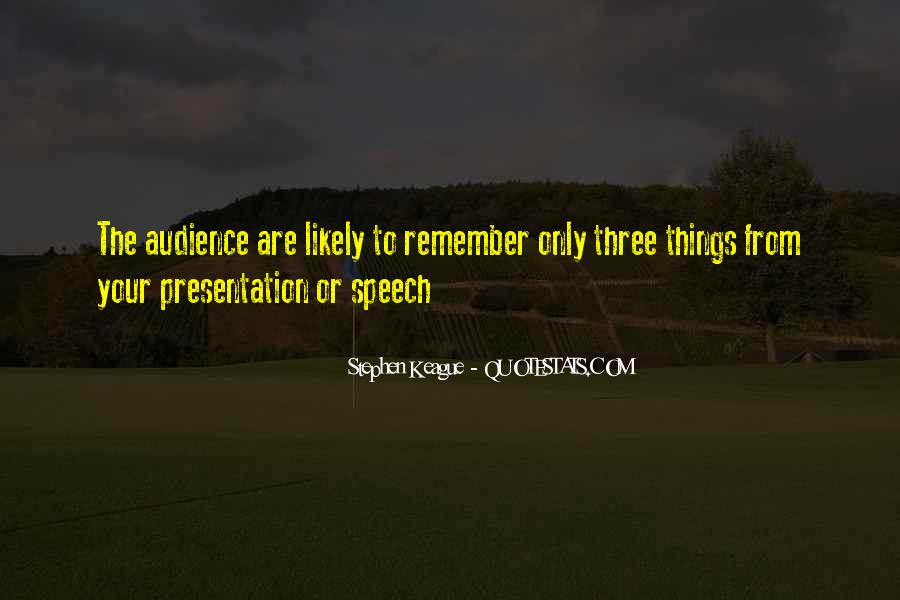 Quotes About Presentation Skills #873368