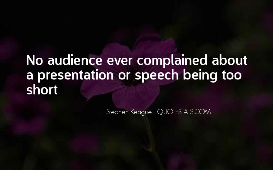 Quotes About Presentation Skills #912193