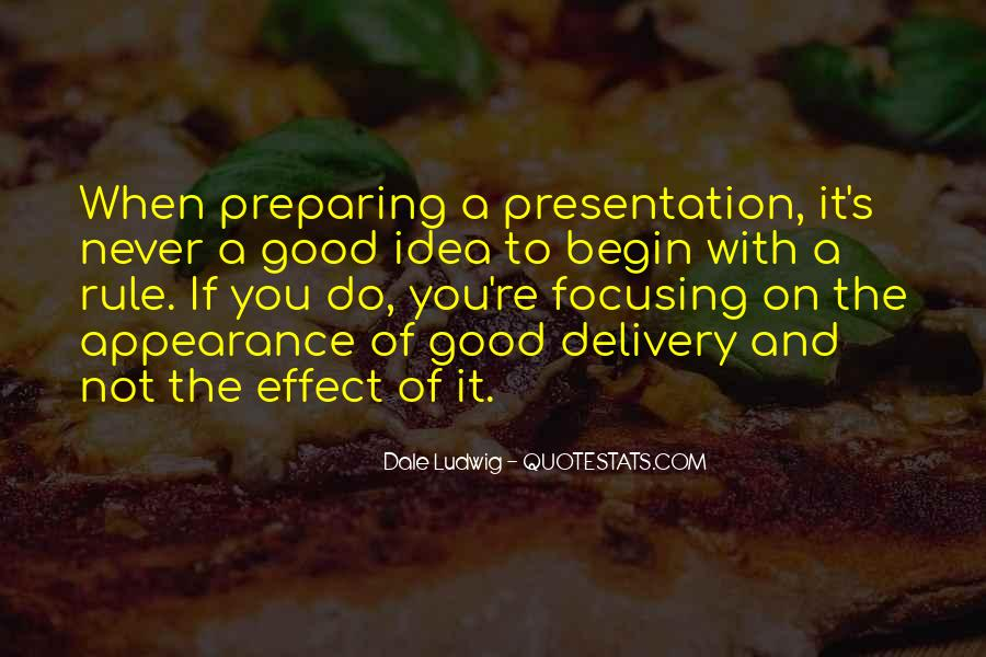Quotes About Presentation Skills #9134
