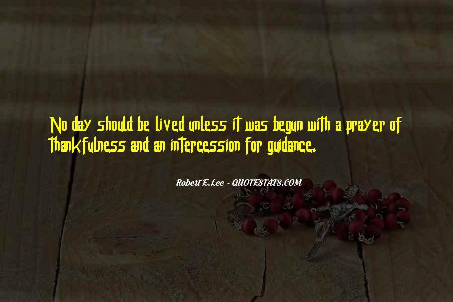 Quotes About Prayer Of Intercession #1188949
