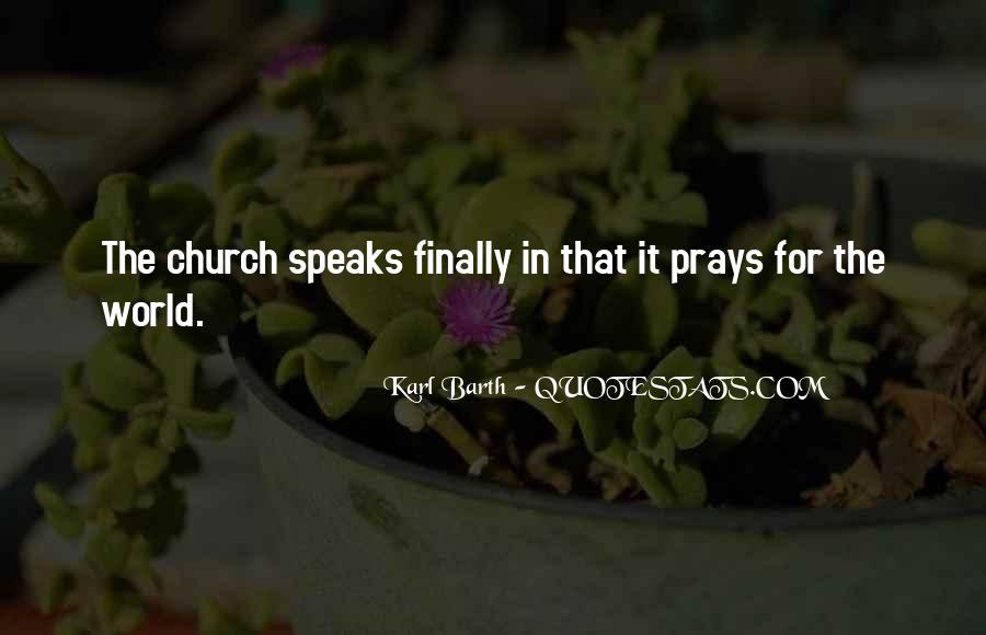 Quotes About Prayer Of Intercession #155548