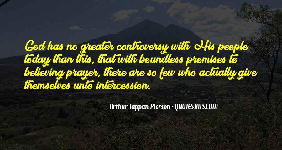 Quotes About Prayer Of Intercession #1730879