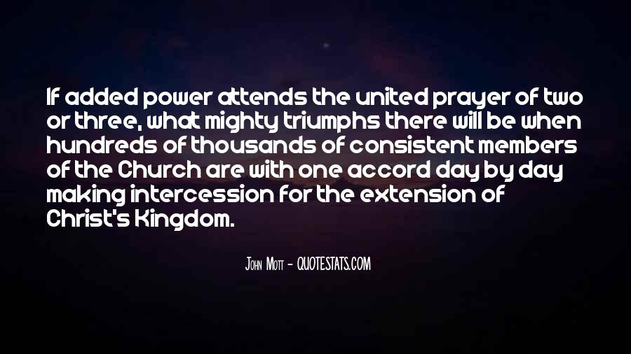 Quotes About Prayer Of Intercession #491556