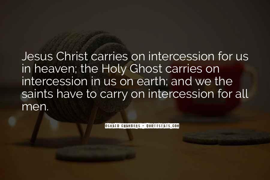 Quotes About Prayer Of Intercession #820732