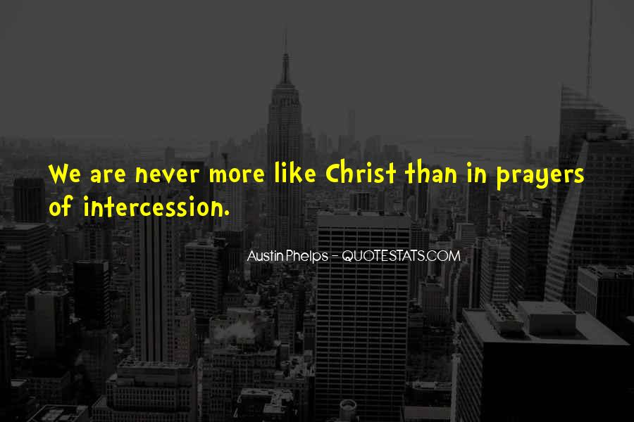 Quotes About Prayer Of Intercession #975043