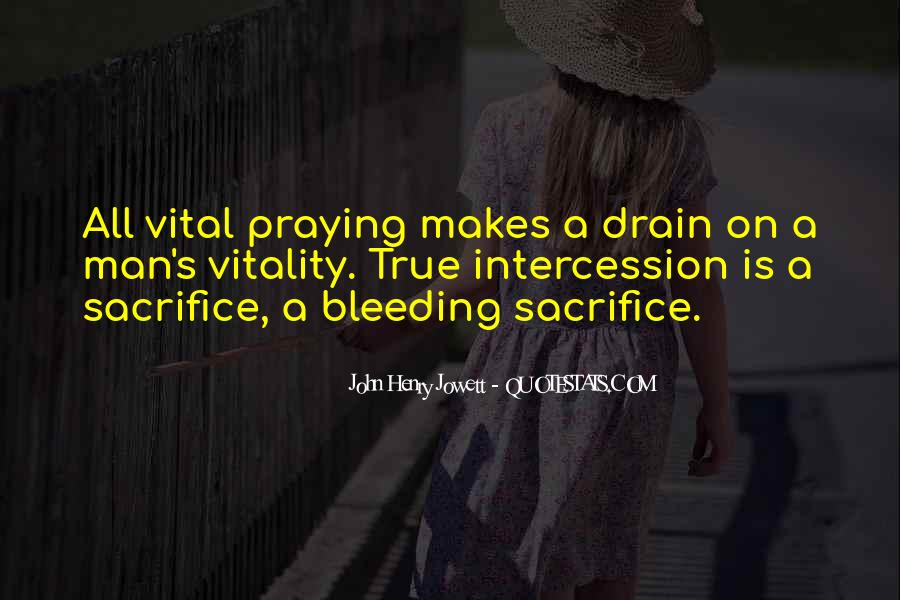 Quotes About Prayer Of Intercession #997033